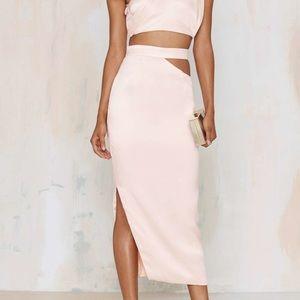 Nasty Gal Danita Cutout Skirt
