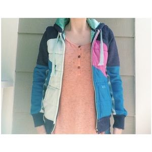 Matix Clothing Company Jackets & Blazers - Matix Asher pink blue purple hooded jacket