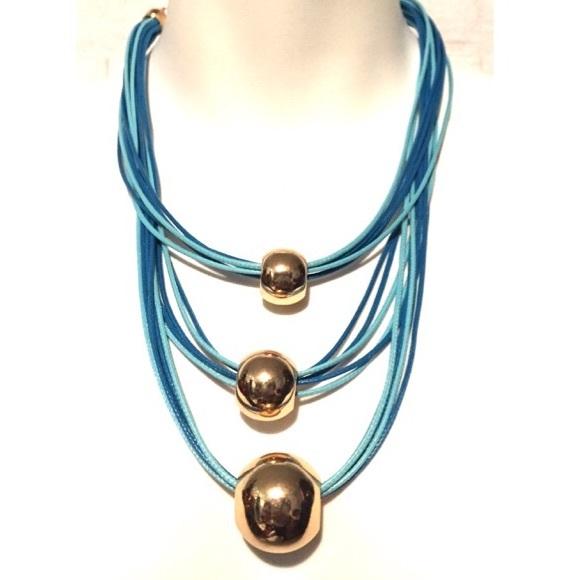 Jewelry - Baby Blue Fashion Necklace