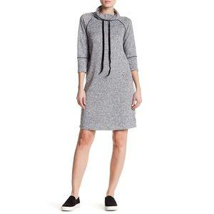 bobeau Dresses & Skirts - Bobeau Athletic Cowl Neck Dress