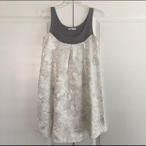 Frozen Floral Dress