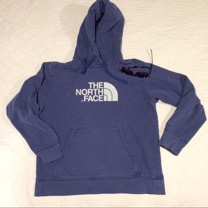 North Face Other - Navy blue North Face Hooded Sweatshirt Men's L
