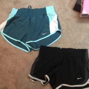 Nike Pants - 2 pairs of nike shorts