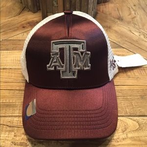 Top of the World Accessories - New Texas A&M Aggies ladies satin trucker hat