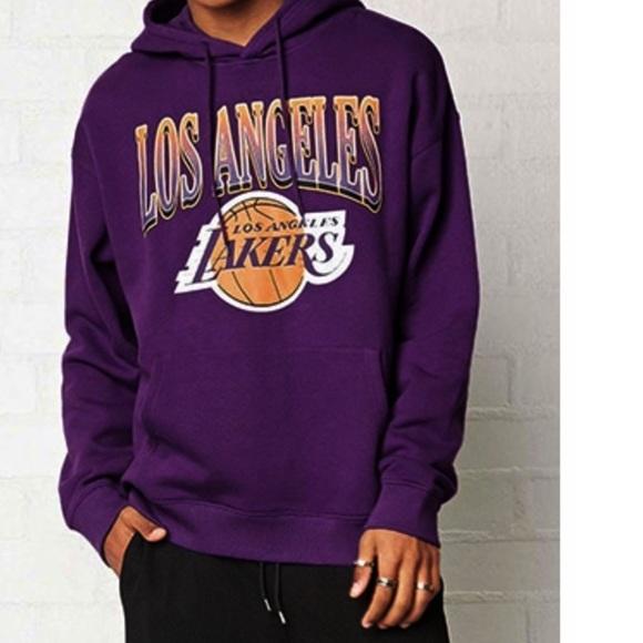 watch 93ac2 174d8 LA Lakers Hoodie Sweatshirt