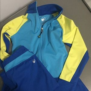 Limeapple Other - Girls Limeapple active wear track jacket set