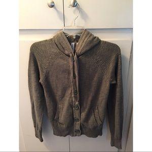 Caslon Sweaters - Caslon Knit Hooded Sweater