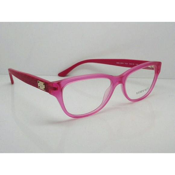 0b3cc2cd6d5 Sale AUTHENTIC Versace pink eyeglasses