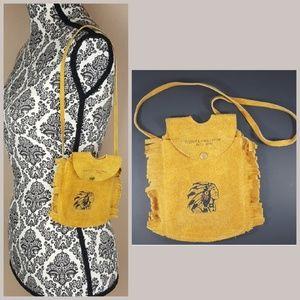 Vintage Handbags - Sequioia Canyon Vintage Handmade Bag