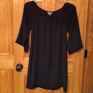 CUTE Navy dress! Size small