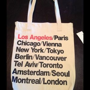 American Apparel Handbags - AA cities small tote ❤️