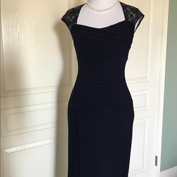 Lauren Ralph Lauren Dresses | Formal Long Gown Deep Blue | Poshmark