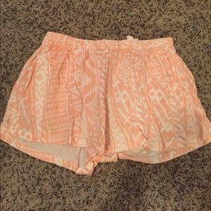 LA Hearts flowy shorts