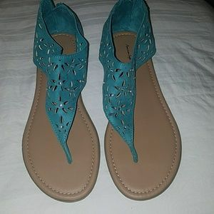 American Eagle by Payless Shoes - American Eagle Teal Sandals