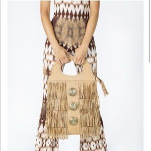 Spell & The Gypsy Collective Handbags - Made for pearl (Janis Joplin inspired fringe bag)