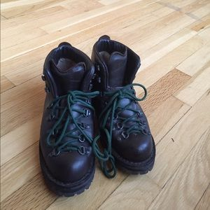 Danner Shoes - Chocolate brown Danner hiking boots.