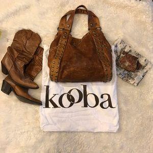 Kooba Handbags - KOOBA large leather handbag, authentic, designer