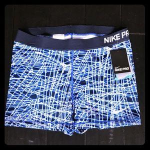 """Nike Pants - Nike Pro 3"""" Cool Tracer Shorts"""