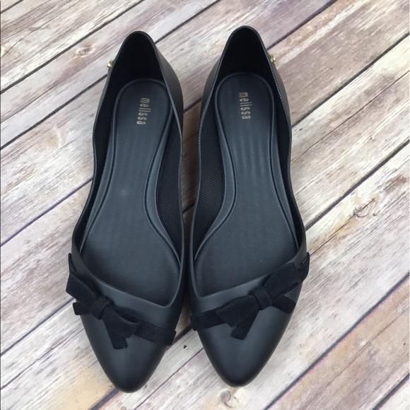 4a00f45c8a7 Melissa Trippy Bow Almond Toe Scented Flats. M_58fd57447f0a05367402d754