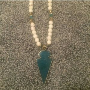 """Jewelry - Long necklace with an """"Arrowhead"""" bottom"""
