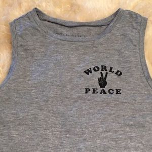 Fifth Sun Tops - 🌎✌🏼World Peace Tee🌎✌🏼