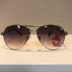 Bob Mackie Accessories - Silver Aviator Sunglasses