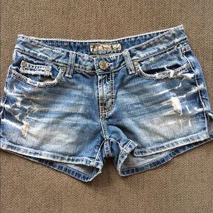 BKE Pants - Womens BKE denim shorts