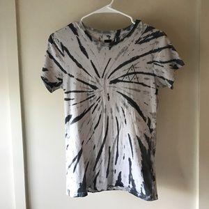 HUF Tops - Huf Short Sleeve Tie Dye Shirt