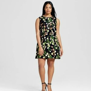 Victoria Beckham Dresses & Skirts - Victoria Beckham sleeveless flower print dress NWT