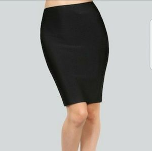 WOW couture Dresses & Skirts - Wow Couture  Luxe Pencil Skirt in Black