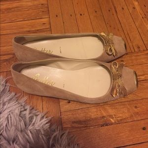 Butter Shoes Shoes - Butter flats suede beige