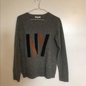 Madewell Sweaters - Madewell NY sweater. Suede lettering. 744a7a7f9