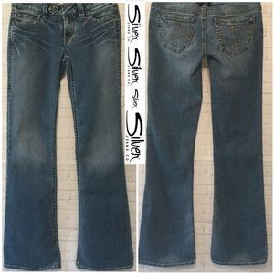 Silver Jeans Denim - Silver Jeans women's 26/33 Tina Style blue jeans