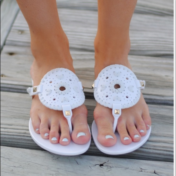 Jack Rogers Shoes | White Jack Rogers