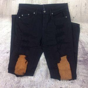 LF Denim - CARMAR disaster skinny jeans