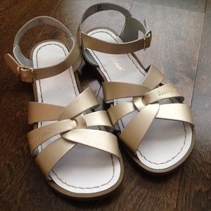 Salt Water Sandals by Hoy Shoes - Salt Water Sandals | Gold