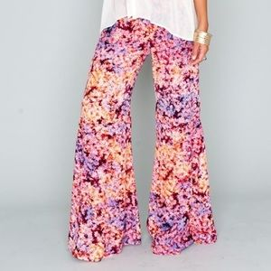 Show Me Your MuMu Pants - Show Me Your Mumu Groovy Gardens Pants small
