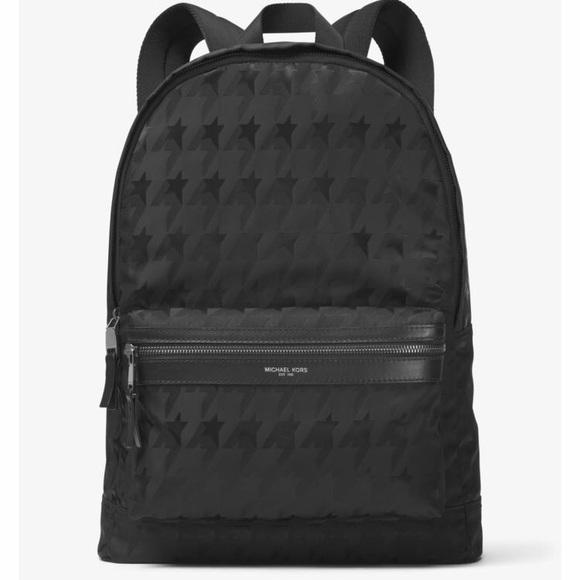 ff1ff6f4c53e Michael Kors Bags | Nwot Startooth Kent Nylon Backpack | Poshmark