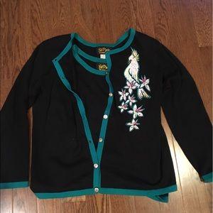 Bob Mackie Sweaters - Beautiful Bob Mackie Wearable Art - NWOT