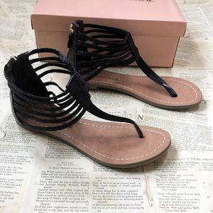Anthropologie Raphaella Booz Gladiator Sandals
