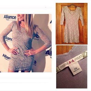 Chelsea & Violet Dresses & Skirts - CHELSEA & VIOLET Lace Long Sleeved Dress. XS. NEW!