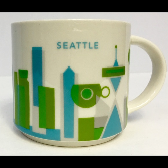 Starbucks Coffee You Are Here Seattle Mug