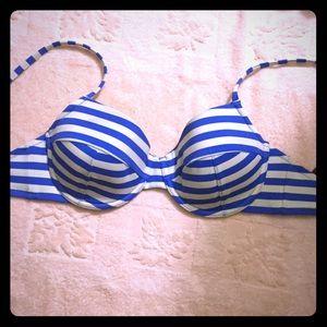J. Crew Other - J. Crew striped swimming top