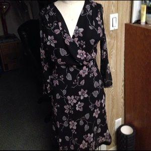 Vivienne Tam Dresses & Skirts - Vintage Vivienne Tam silk floral dress Sz S NWT