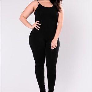 Fashion Nova Pants - Spaghetti Strap Bodysuit/Jumpsuit