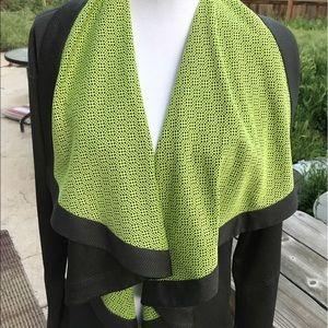 Fabletics Jackets & Blazers - Fabletics Cardigan Green Gray XL