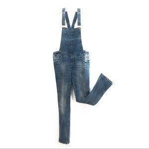Denim - Denim long pant overalls boho/trendy/festival