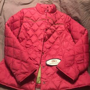 Roper Jackets & Blazers - Roper Pink mid weight jacket NWT
