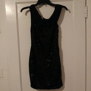 Moa Moa Dresses & Skirts - Black sequin minidress