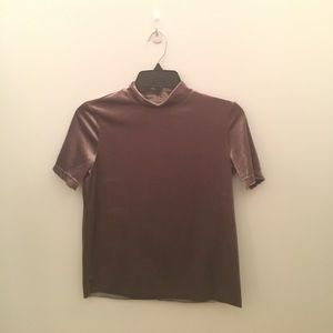 Zara Tops - Zara velvet top